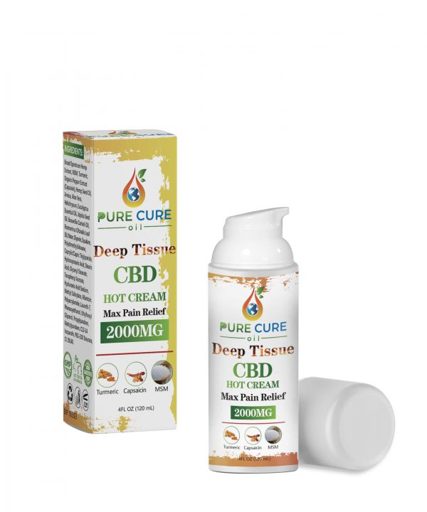 Deep Tissue Hot Cream CBD